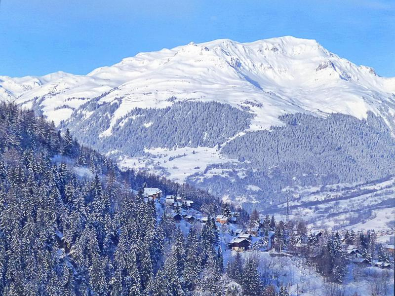 Vacances en montagne Chalet Balcon du Paradis - Peisey-Vallandry - Extérieur hiver