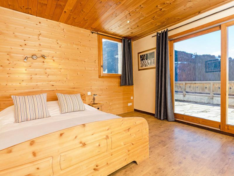 Rent in ski resort Chalet Balcon du Paradis - Peisey-Vallandry - Bedroom