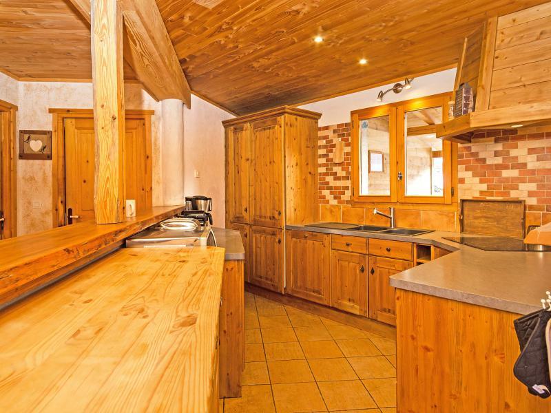 Rent in ski resort Chalet Balcon du Paradis - Peisey-Vallandry - Kitchen