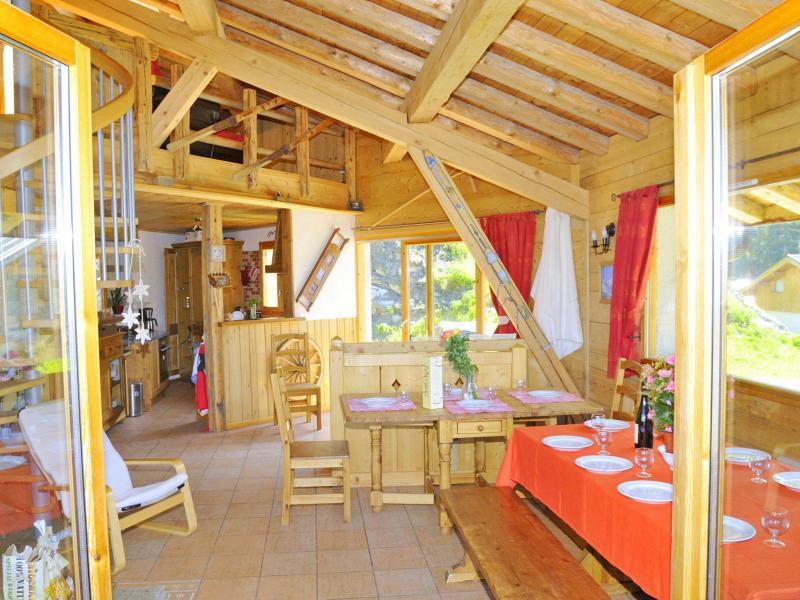 Location au ski Chalet Balcon du Paradis - Peisey-Vallandry - Salle à manger