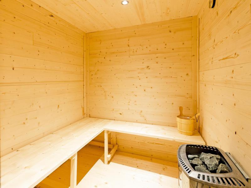 Rent in ski resort Chalet Balcon du Paradis - Peisey-Vallandry - Sauna