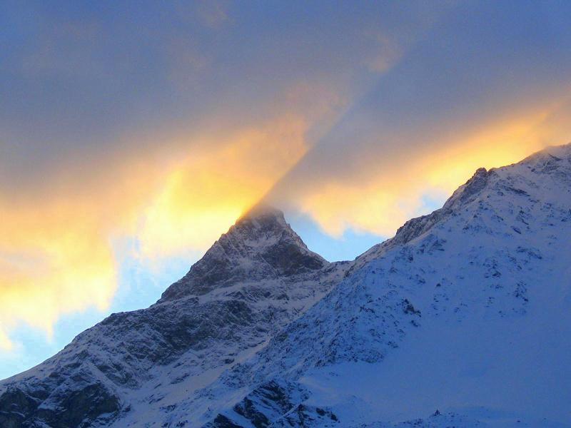 Vacances en montagne Chalet Coeur du Paradis - Peisey-Vallandry - Extérieur hiver