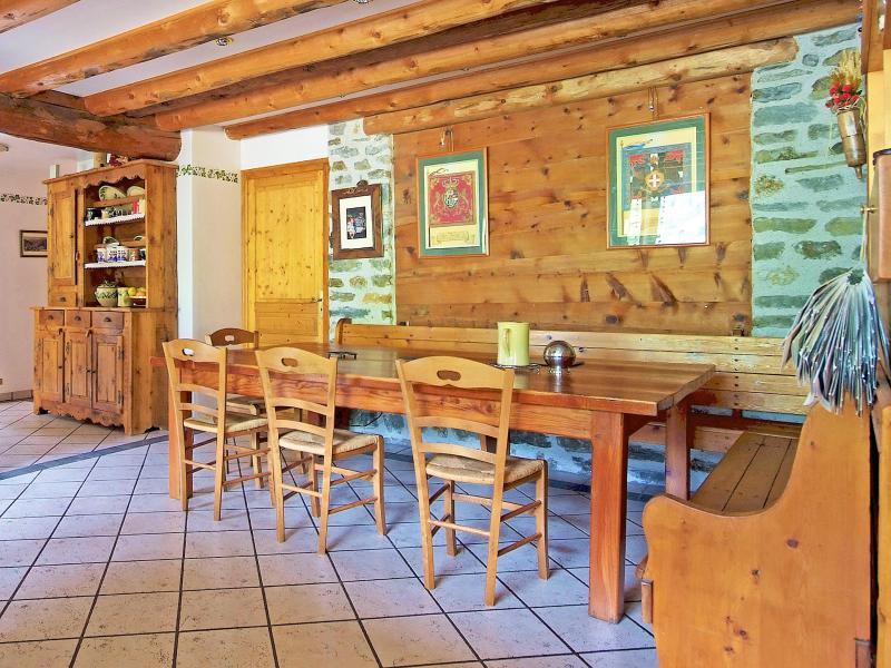 Rent in ski resort Chalet de Claude - Peisey-Vallandry - Living room