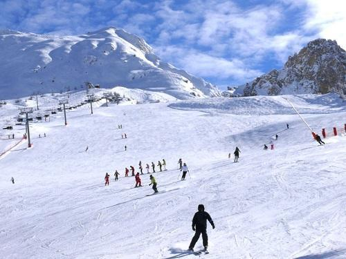 Location au ski Chalet Des Domaines De La Vanoise - Peisey-Vallandry - Extérieur hiver