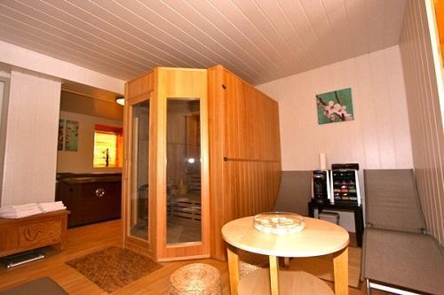 Location au ski Chalet Des Domaines De La Vanoise - Peisey-Vallandry - Sauna