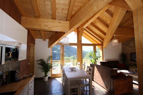 Location au ski Chalet Des Domaines De La Vanoise - Peisey-Vallandry - Séjour