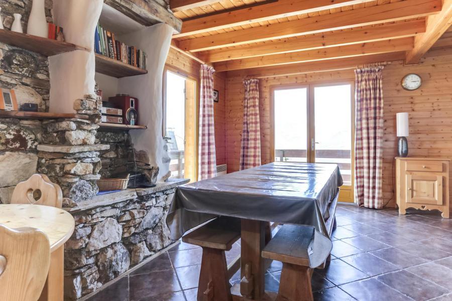 Location au ski Chalet 6 pièces 10 personnes - Chalet Forsythia - Peisey-Vallandry - Salle à manger