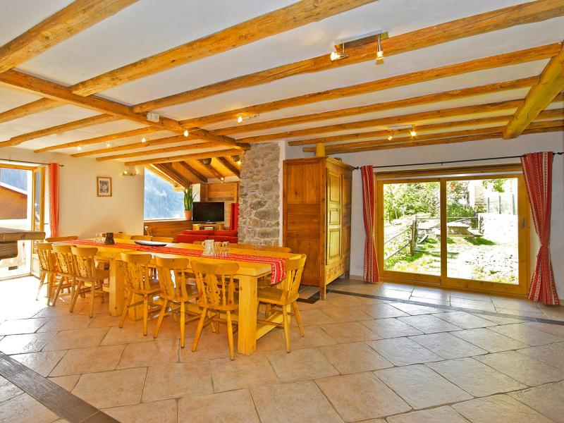 Location au ski Chalet Honore - Peisey-Vallandry - Salle à manger