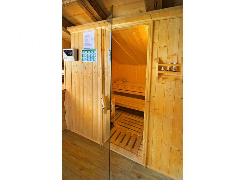 Location au ski Chalet Honoré - Peisey-Vallandry - Sauna