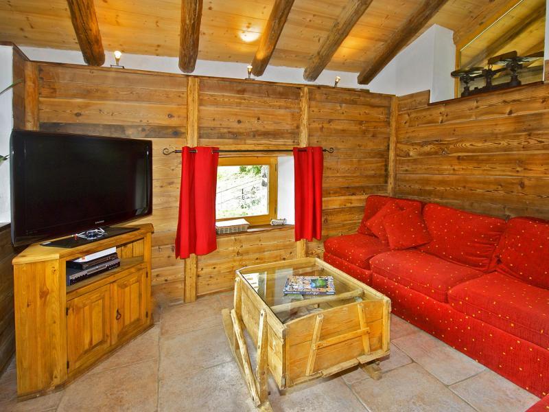 Location au ski Chalet Honore - Peisey-Vallandry - Séjour