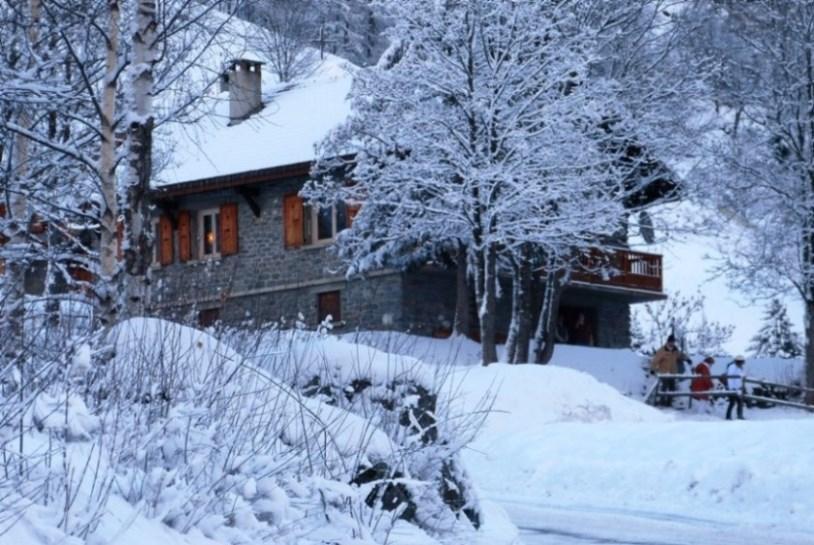 Location au ski Chalet Morel - Peisey-Vallandry - Extérieur hiver