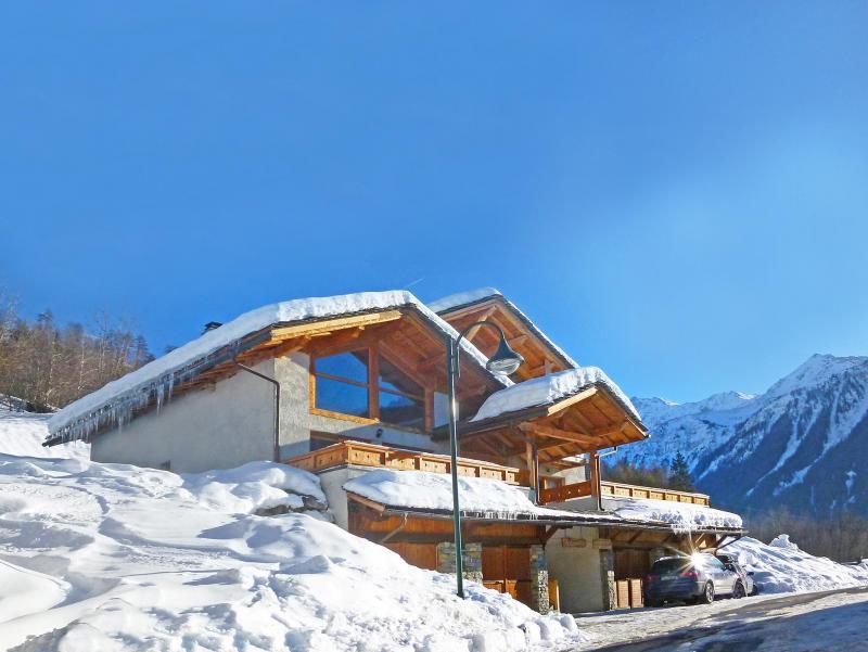 Vacances en montagne Chalet Piccola Pietra - Peisey-Vallandry - Extérieur hiver