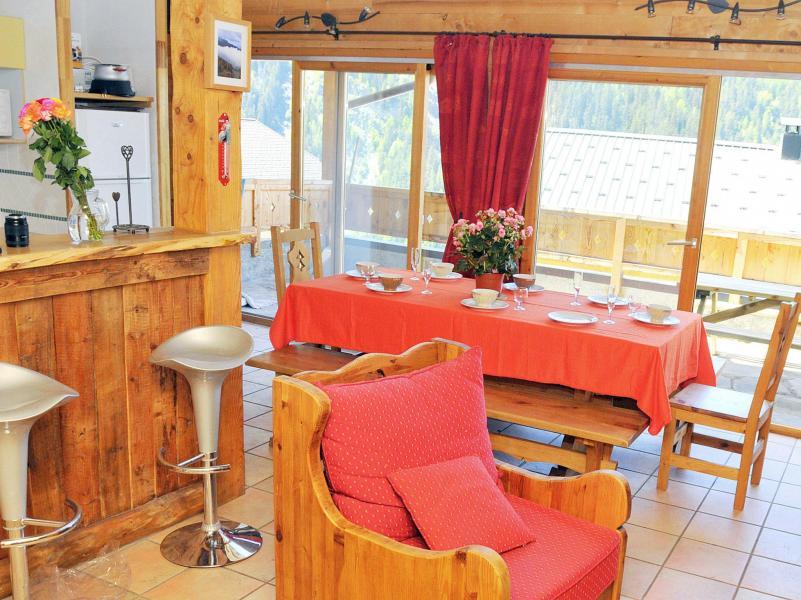 Location au ski Chalet Piccola Pietra - Peisey-Vallandry - Salle à manger