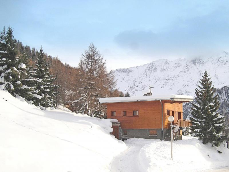 Vacances en montagne Chalet Pierra Menta - Peisey-Vallandry - Extérieur hiver