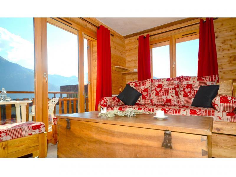 Rent in ski resort Chalet Pierra Menta - Peisey-Vallandry - Living room