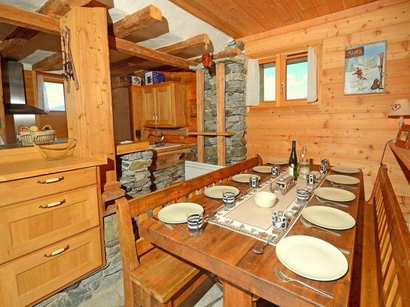 Location au ski Chalet Pierra Menta - Peisey-Vallandry - Table