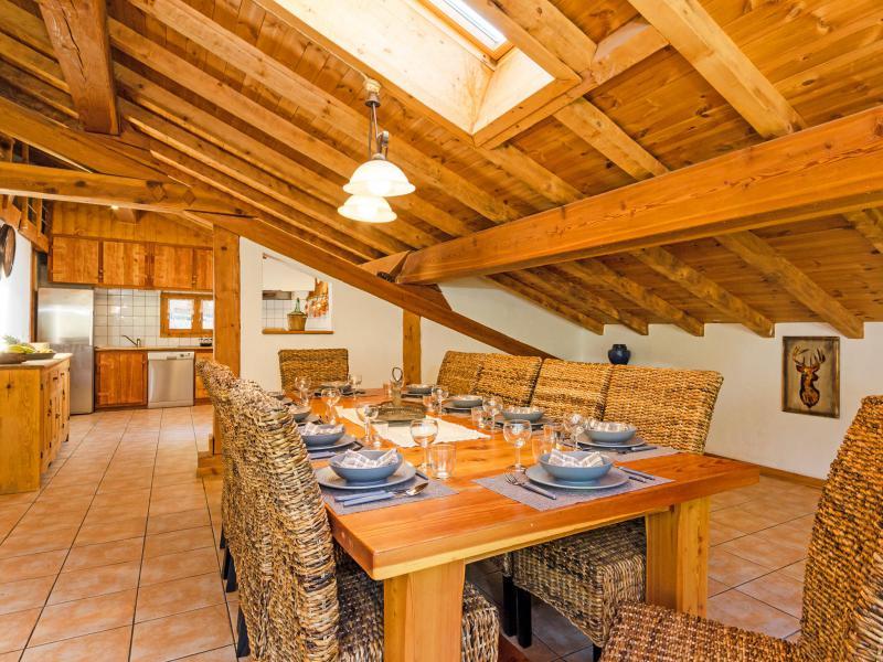 Location au ski Chalet Ulysse - Peisey-Vallandry - Salle à manger