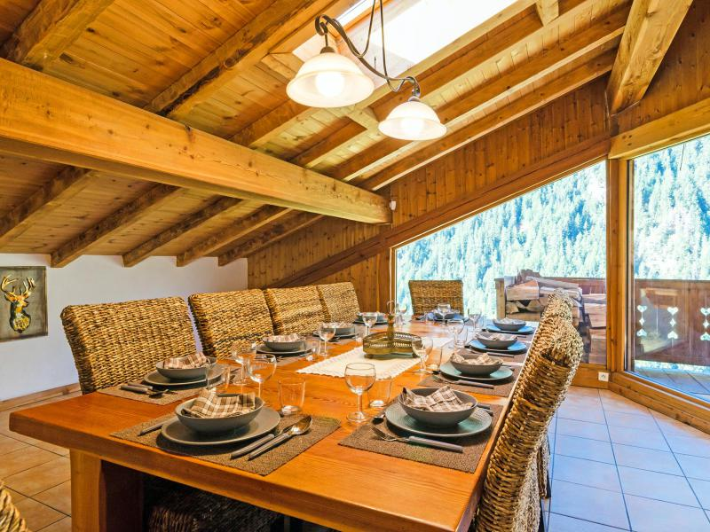 Location au ski Chalet Ulysse - Peisey-Vallandry - Table