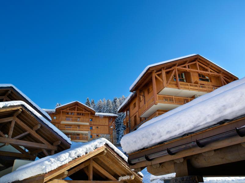 Wynajem na narty L'Orée des Cimes - Peisey-Vallandry - Zima na zewnątrz