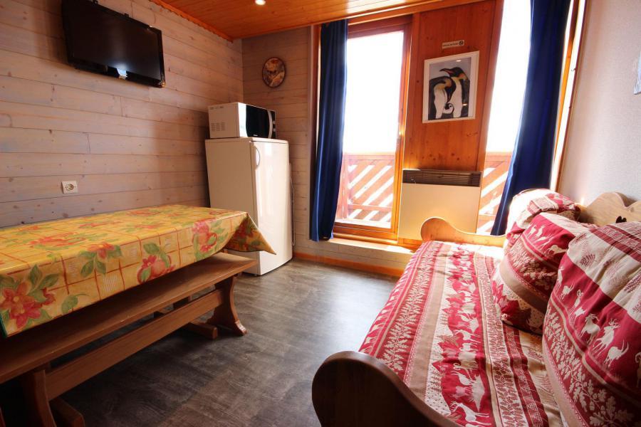 Аренда на лыжном курорте Апартаменты дуплекс 3 комнат 6 чел. (003) - Résidence Arc en Ciel - Peisey-Vallandry - Столова&