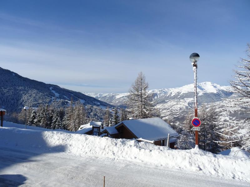 Location au ski Appartement duplex 3 pièces 6 personnes (003) - Résidence Arc en Ciel - Peisey-Vallandry - Extérieur hiver