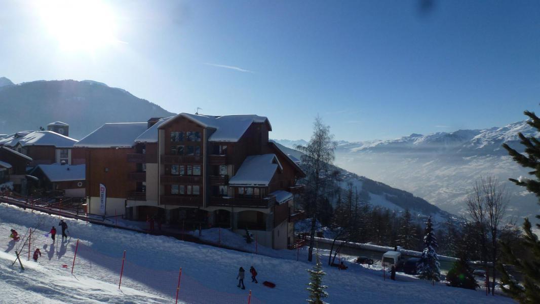 Location au ski Résidence Arc en Ciel - Peisey-Vallandry - Extérieur hiver