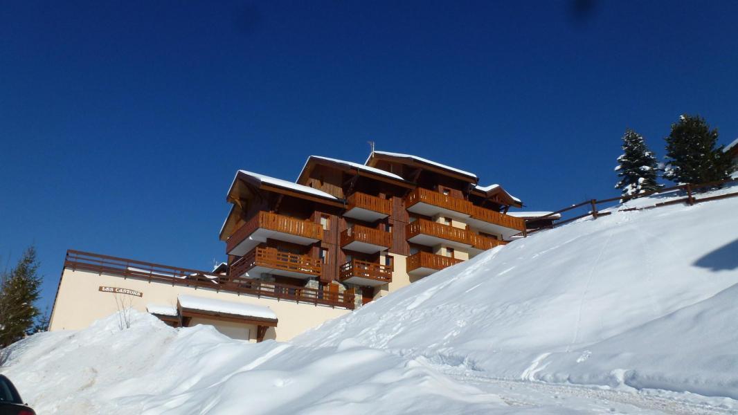 Location au ski Résidence Castors - Peisey-Vallandry - Extérieur hiver