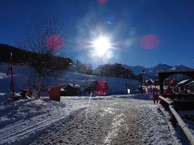 Location au ski Residence Edelweiss - Peisey-Vallandry - Extérieur hiver