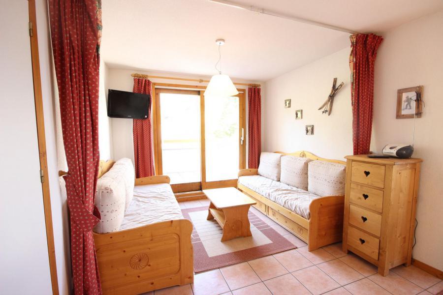 Location au ski Appartement 3 pièces 8 personnes - Residence Edelweiss - Peisey-Vallandry - Séjour