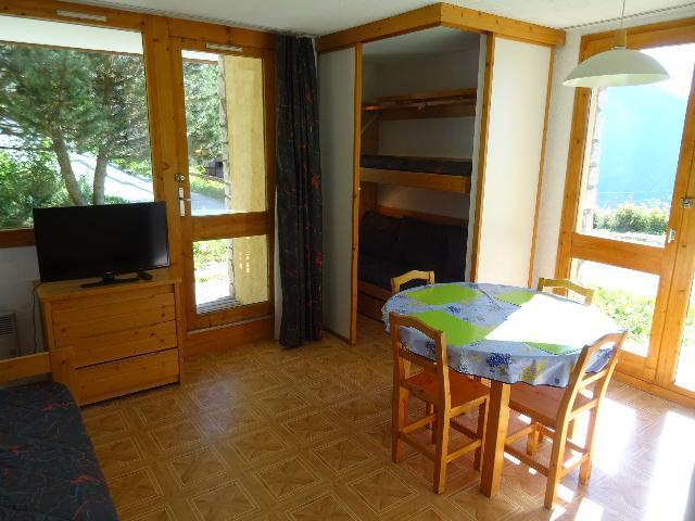 Location au ski Studio cabine 4 personnes (AIG005R) - Résidence l'Aigle - Peisey-Vallandry - Table