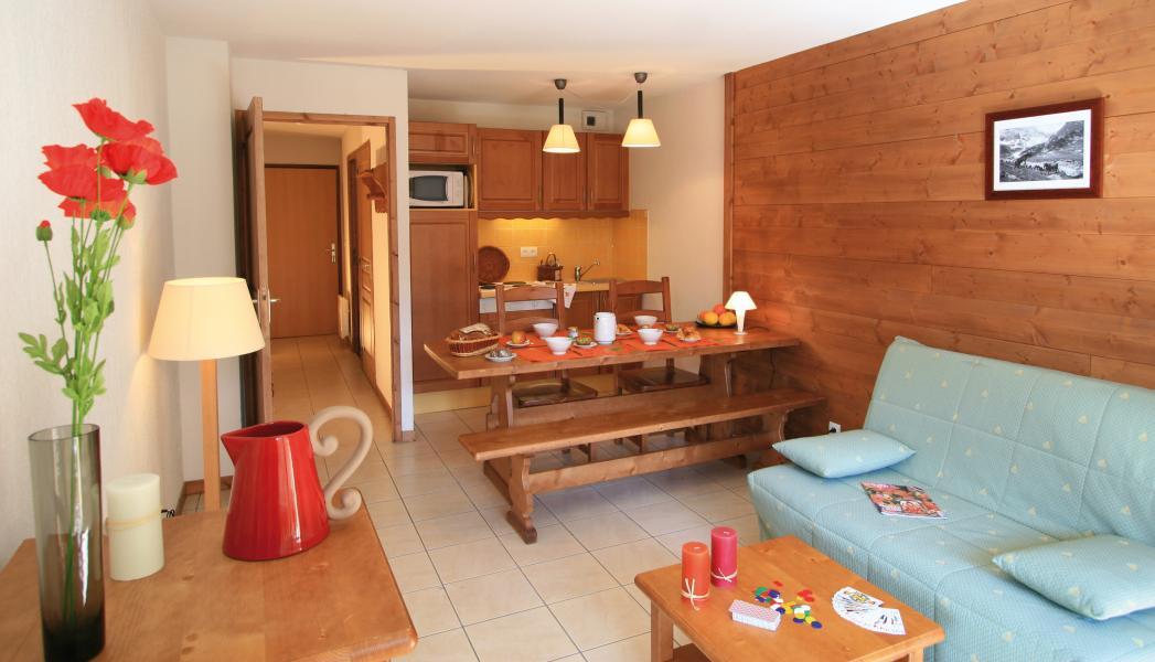 Skiverleih Résidence Lagrange l'Arollaie - Peisey-Vallandry - Sofa