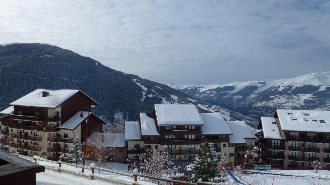 Vacances en montagne Studio coin montagne 4 personnes (77) - Résidence le Crêt de l'Ours 1 - Peisey-Vallandry - Extérieur hiver