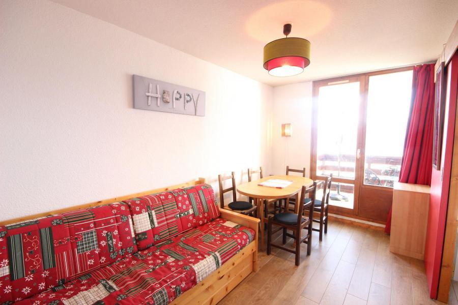 Location au ski Studio coin montagne 4 personnes (77) - Résidence le Crêt de l'Ours 1 - Peisey-Vallandry - Banquette