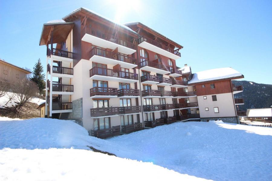 Location au ski Résidence le Crêt de l'Ours 2 - Peisey-Vallandry - Extérieur hiver