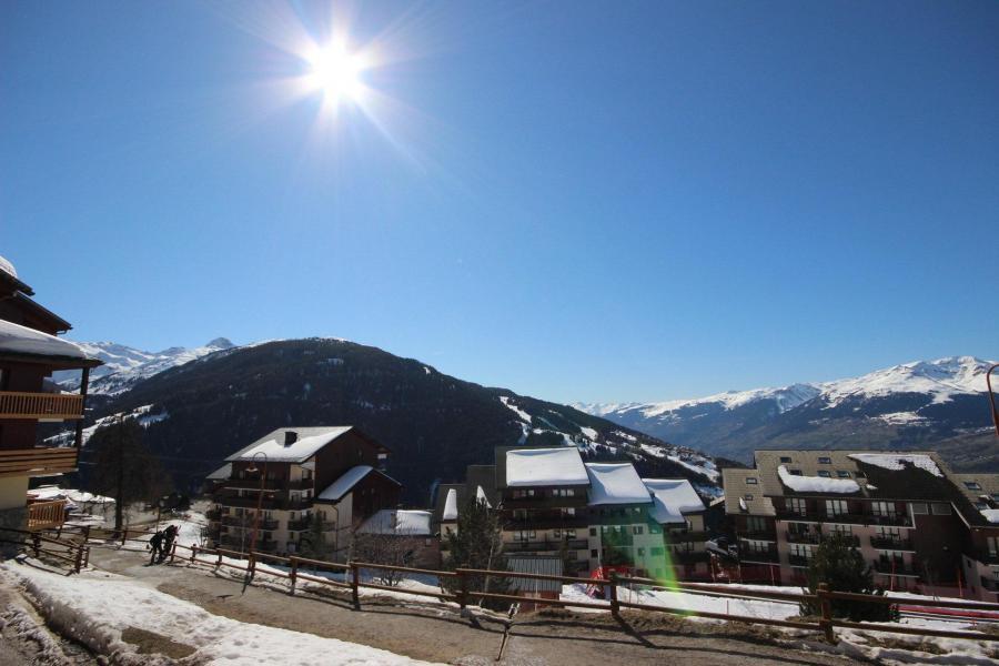 Location au ski Appartement 2 pièces 4 personnes (007) - Résidence le Crêt de l'Ours 2 - Peisey-Vallandry - Extérieur hiver