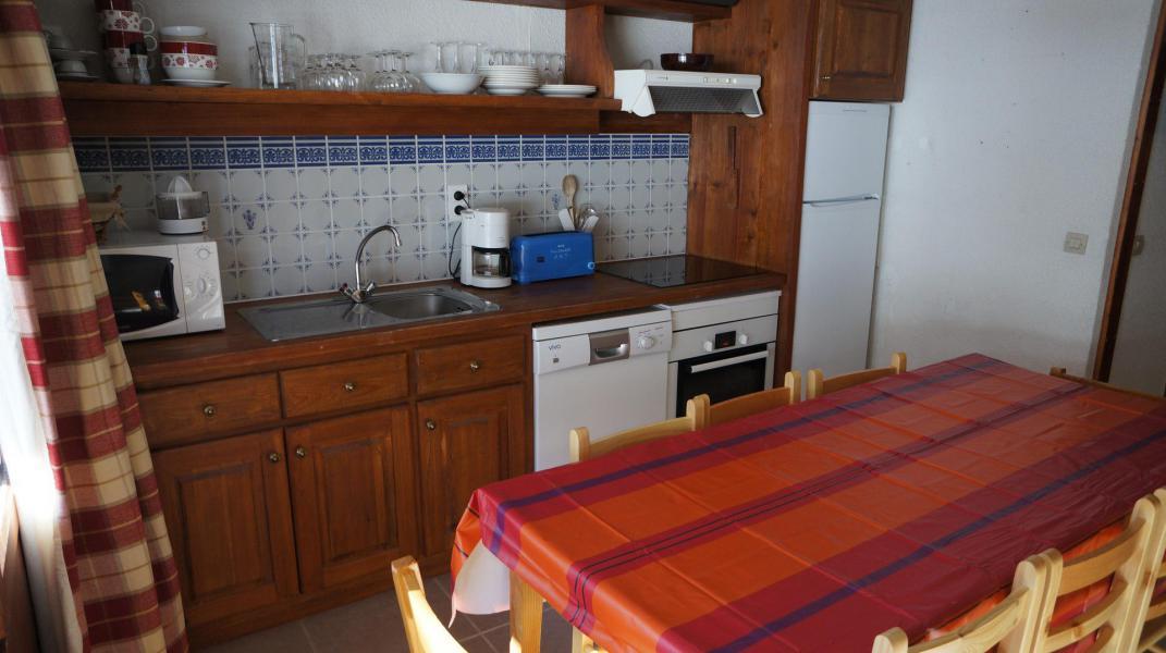 Location au ski Appartement 4 pièces mezzanine 8 personnes (100) - Résidence le Crêt de l'Ours 2 - Peisey-Vallandry - Cuisine