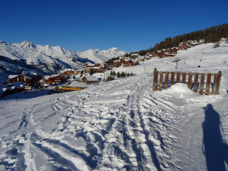 Location au ski Résidence le Praz de l'Ours 2 - Peisey-Vallandry - Extérieur hiver