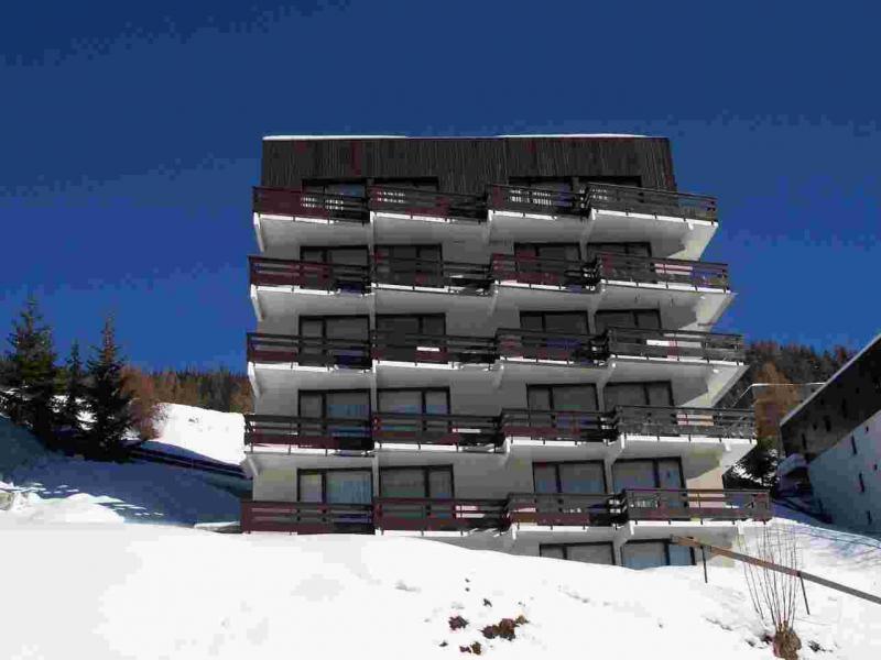Location au ski Résidence le Rey - Peisey-Vallandry - Extérieur hiver