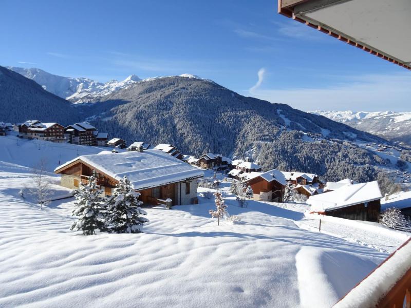 Vacances en montagne Appartement 3 pièces 6 personnes - Résidence les Clarines - Peisey-Vallandry - Extérieur hiver
