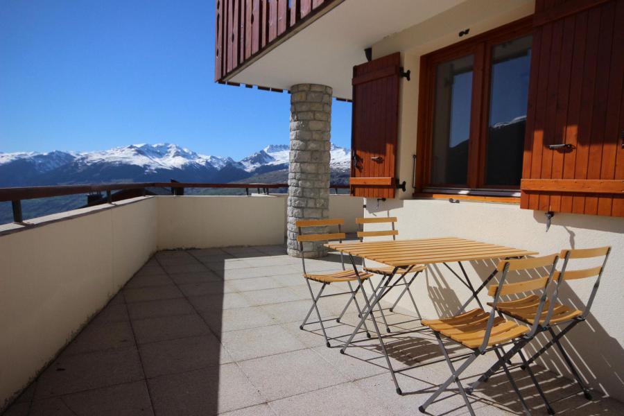 Skiverleih 3-Zimmer-Appartment für 7 Personen (07 R) - Résidence les Presles - Peisey-Vallandry - Wohnzimmer