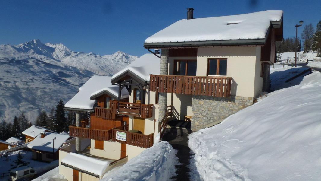 Location au ski Résidence les Presles - Peisey-Vallandry - Extérieur hiver