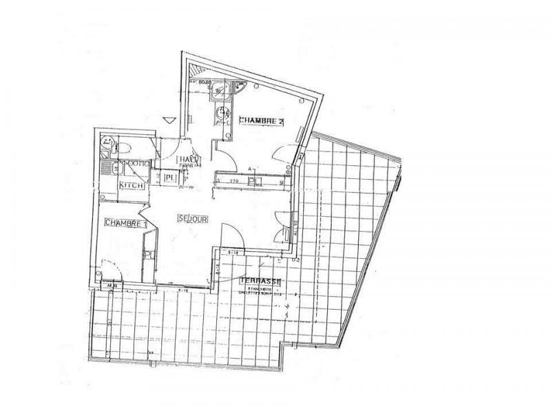 Location au ski Appartement 3 pièces 7 personnes (07 R) - Résidence les Presles - Peisey-Vallandry - Plan