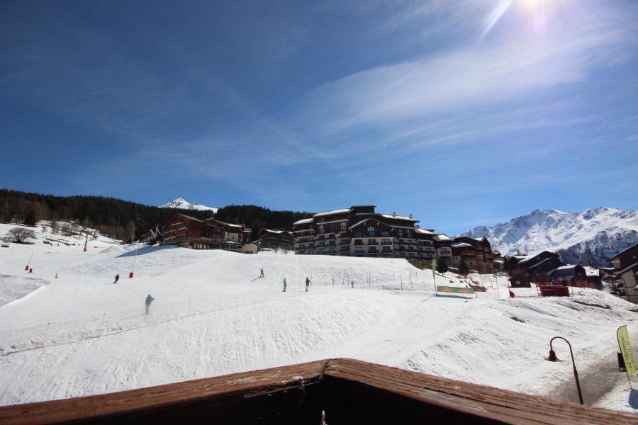 Location au ski Studio coin montagne 4 personnes (38) - Résidence les Soldanelles - Peisey-Vallandry - Extérieur hiver