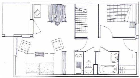 plan appartement montagne