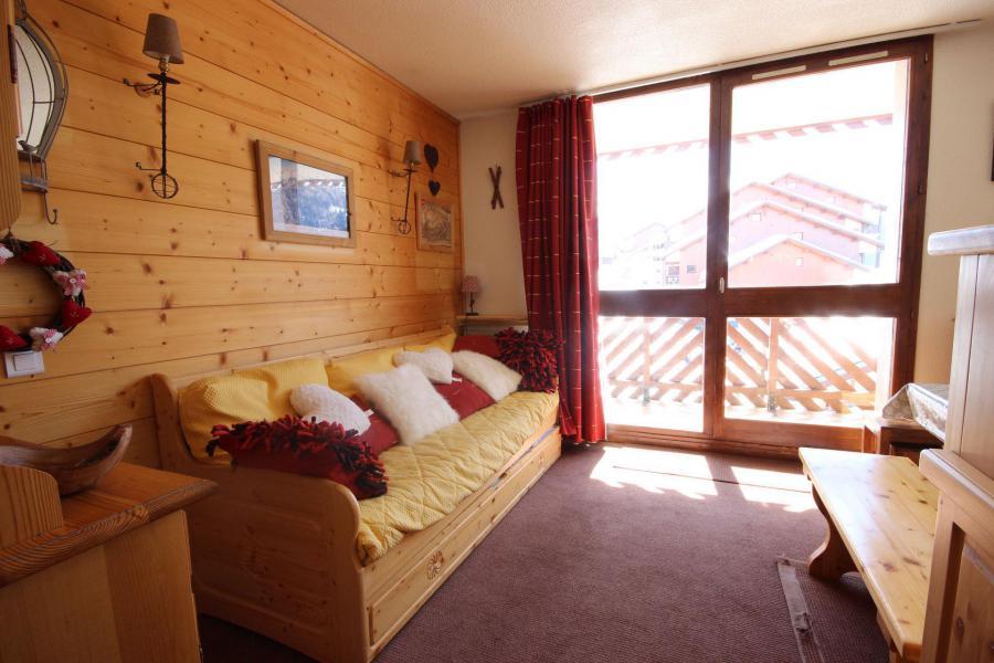 Location au ski Studio coin montagne 4 personnes (38) - Résidence les Soldanelles - Peisey-Vallandry - Appartement