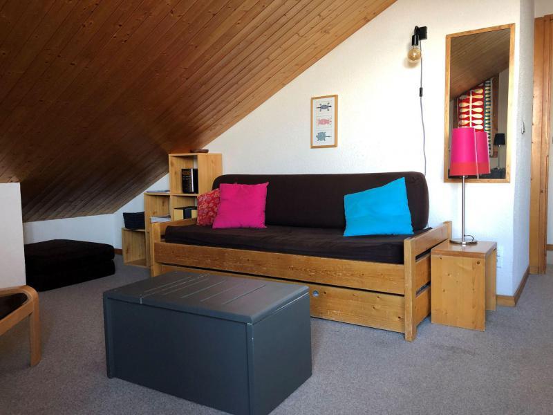 Skiverleih 2-Zimmer-Appartment für 5 Personen (618) - Résidence Michailles - Peisey-Vallandry - Wohnzimmer