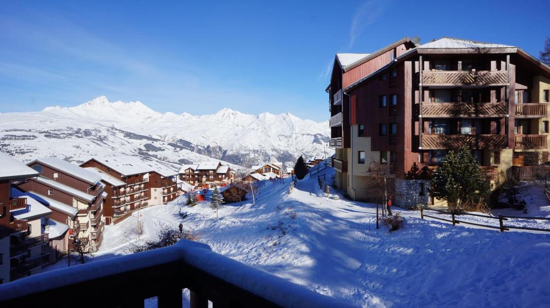 Location au ski Studio 4 personnes (420) - Résidence Michailles - Peisey-Vallandry - Extérieur hiver