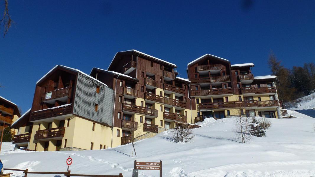 Vacances en montagne Résidence Michailles - Peisey-Vallandry - Extérieur hiver