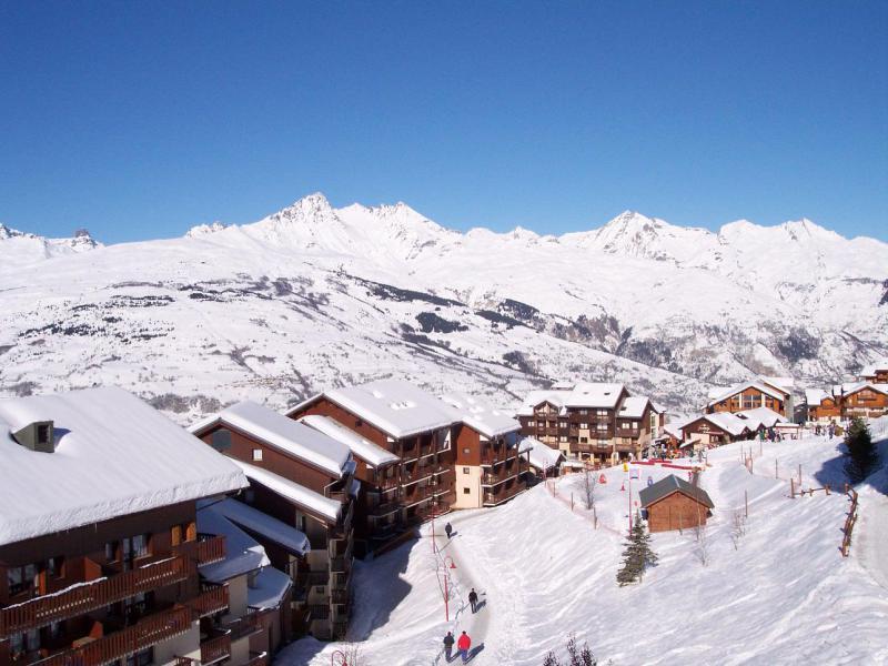 Vacances en montagne Appartement 2 pièces 5 personnes (618) - Résidence Michailles - Peisey-Vallandry - Extérieur hiver