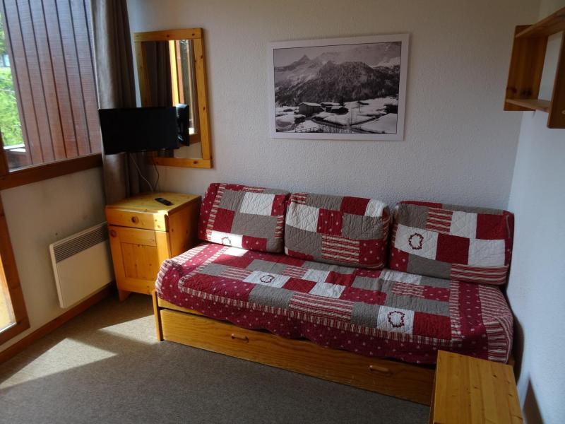 Location au ski Studio cabine 3 personnes (617) - Résidence Michailles - Peisey-Vallandry - Banquette